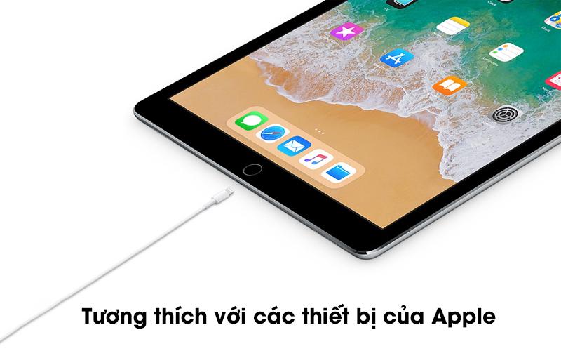 Tương thích với các thiết bị của Apple - Sạc nhanh cho các thiết bị được hỗ trợ - Cáp Type C- Lightning 1m Apple MX0K2 Trắng