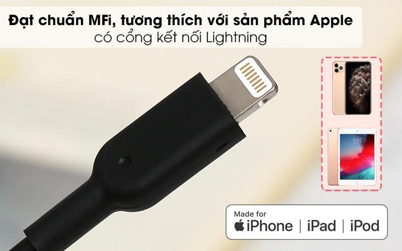 Cáp Lightning MFI 0.9m Anker Powerline II A8432 - Đạt chứng chỉ MFi
