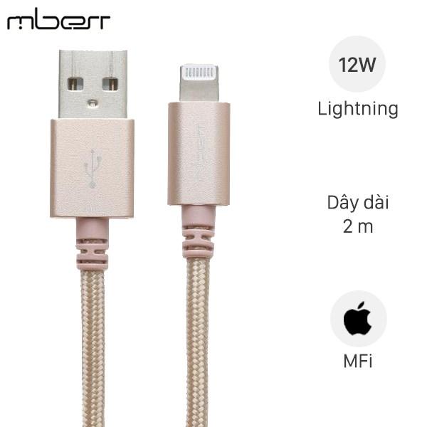 Cáp Lightning Mbest DS951-WB