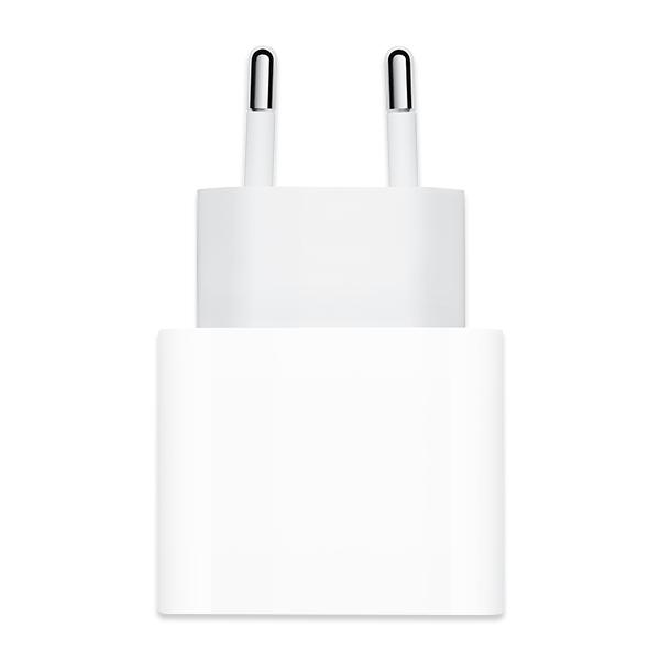 Adapter Sạc Type C 20W dùng cho iPhone/iPad Apple MHJE3 Trắng