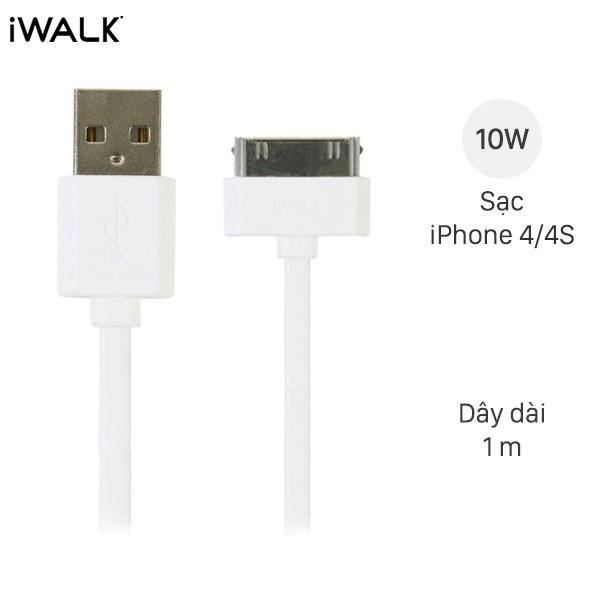 Cáp iPhone 4 - iPhone 4s iWalk