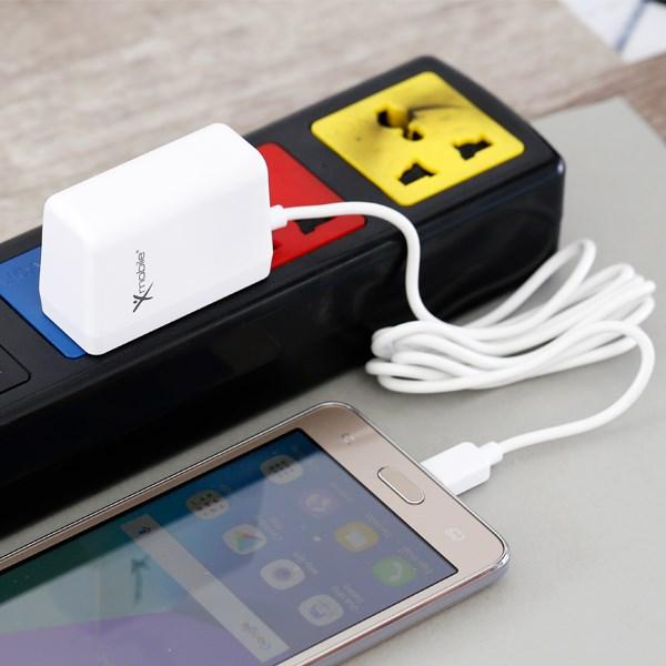 Sạc dây Micro USB 1.2 m Xmobile TS-C079