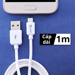 Dây cáp Micro USB Xmobile MU03-1000