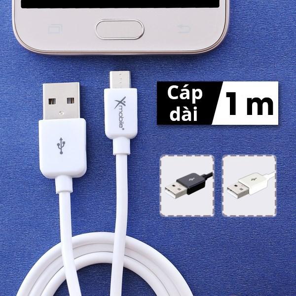 Dây cáp Micro USB 1 m Xmobile MU03-1000