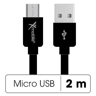 Dây cáp Micro USB 2 m Xmobile MU03