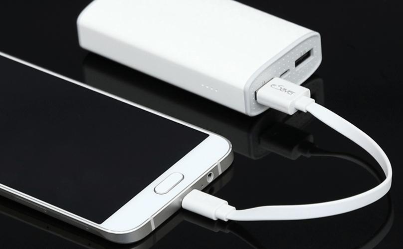 ខ្សែសាក Micro USB 20cm eSaver BST-0728 ពណ៌ស.