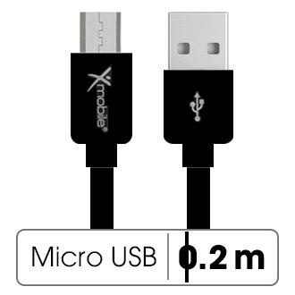 Dây cáp Micro USB 0.2 m Xmobile MU03