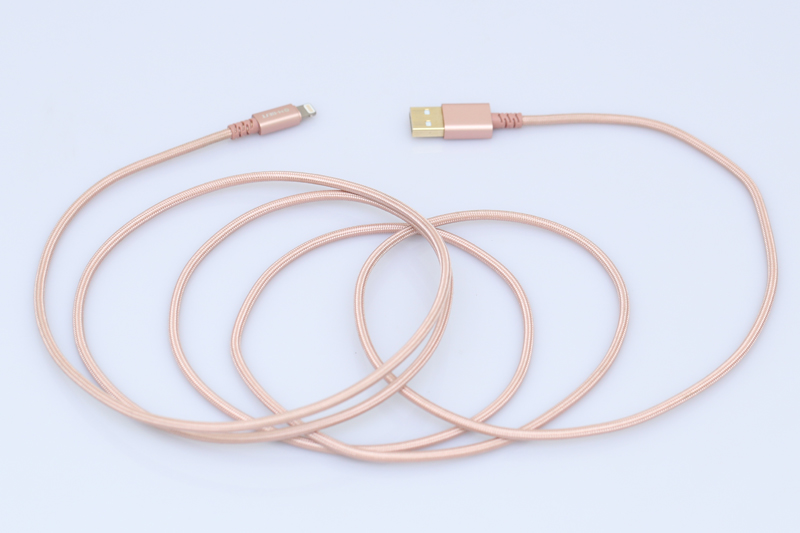 Dây cáp Lightning 2 m M-Best DS086-TB - Thích hợp khi muốn kết nối các thiết bị ở khoảng cách xa