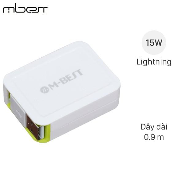 Cáp Lightning dây rút M-Best DS020-TB