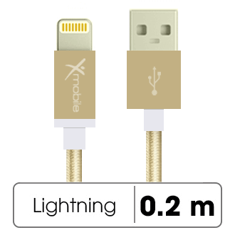 Dây cáp Lightning 0.2 m Xmobile AL06-200