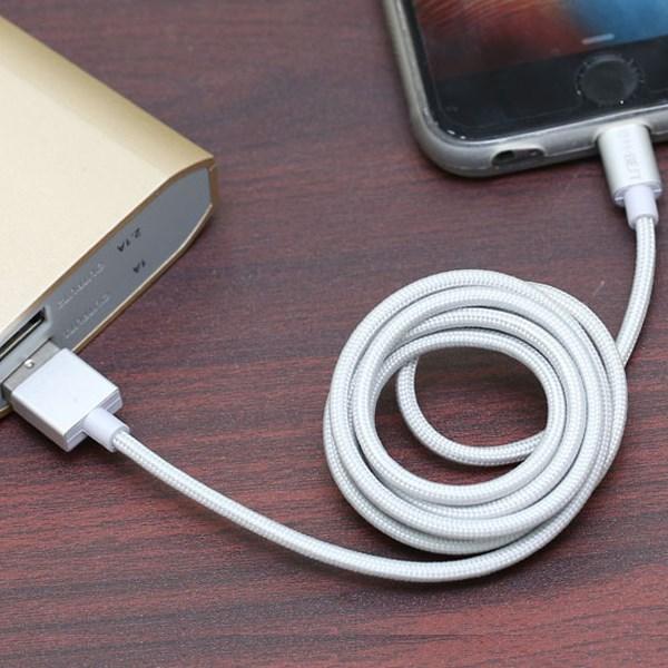 Dây cáp Lightning 1 m MFI M-Best DS083-TB