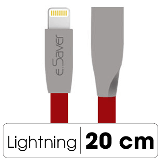 Dây cáp Lightning 0.2 m eSaver Gate-0759P