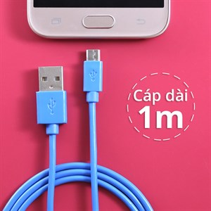 Dây cáp Micro USB 1 m eSaver DS118BR-TB