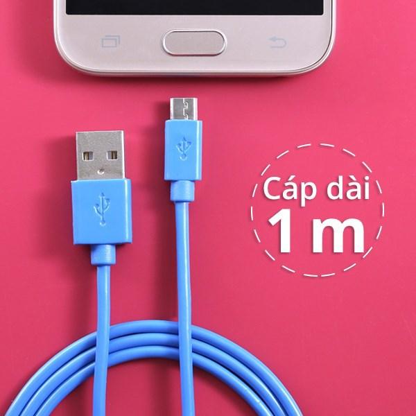 Dây cáp Micro USB 1 m e.Saver DS118-TB