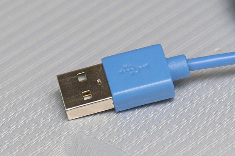 Dây cáp Micro USB 1 m eSaver DS118-TB - Đầu cáp USB cắm vào cổng USB trên laptop, pin sạc, adapter…