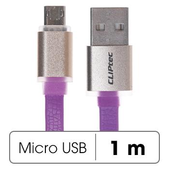 Dây cáp Micro USB 1 m Cliptec Titanium II OCC132