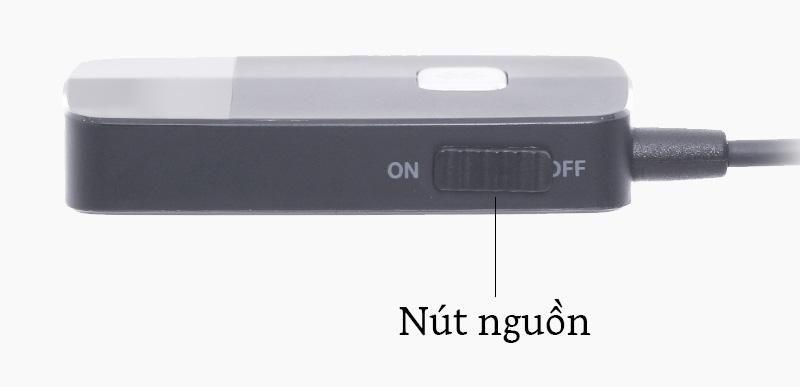 Adapter Bluetooth cổng 3.5mm Roman J205 - Trang bị nút bấm và cổng sạc