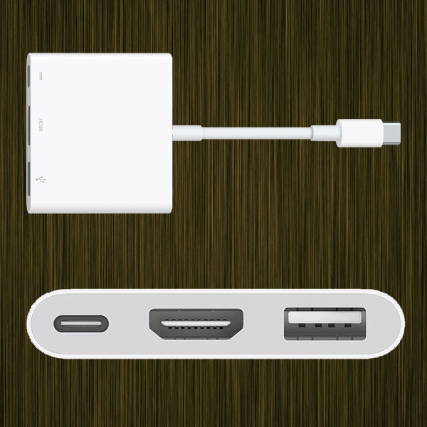 Adapter chuyển đổi Type C Macbook MJ1K2