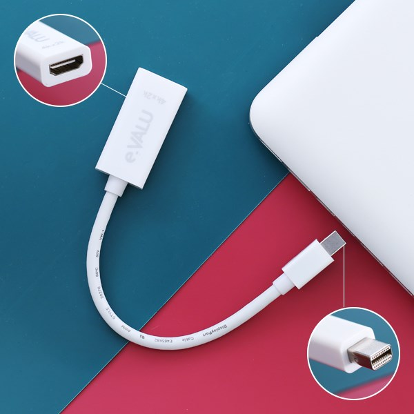 Adapter chuyển Mini DisplayPort - HDMI Female 10 cm e.VALU LT8611SX