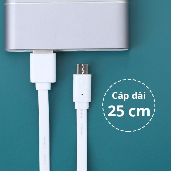 Dây cáp Micro USB 25 cm ECO
