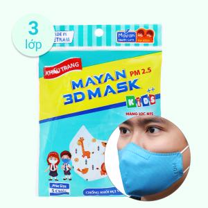 Khẩu trang trẻ em Mayan 3D Mask PM 2.5 - giao màu ngẫu nhiên