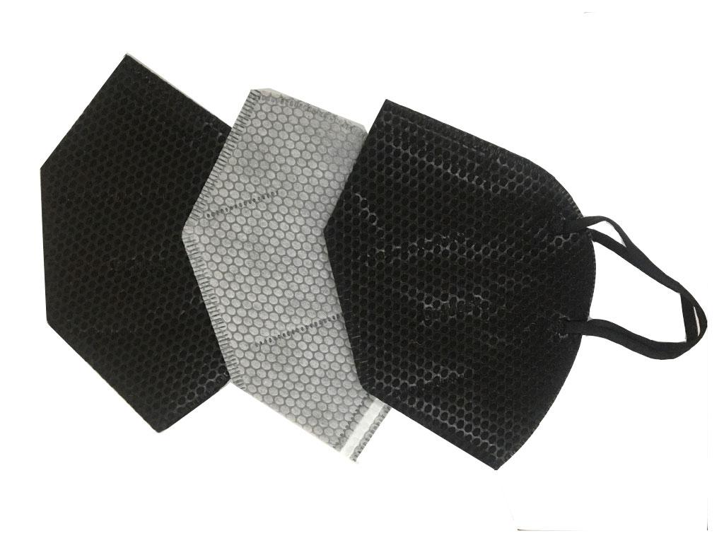 Khẩu trang than hoạt tính Dr.Mask 3D 4 lớp gói 3 cái 5