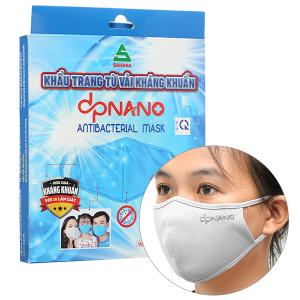 Khẩu trang vải kháng khuẩn dpNano 2 lớp hộp 4 cái
