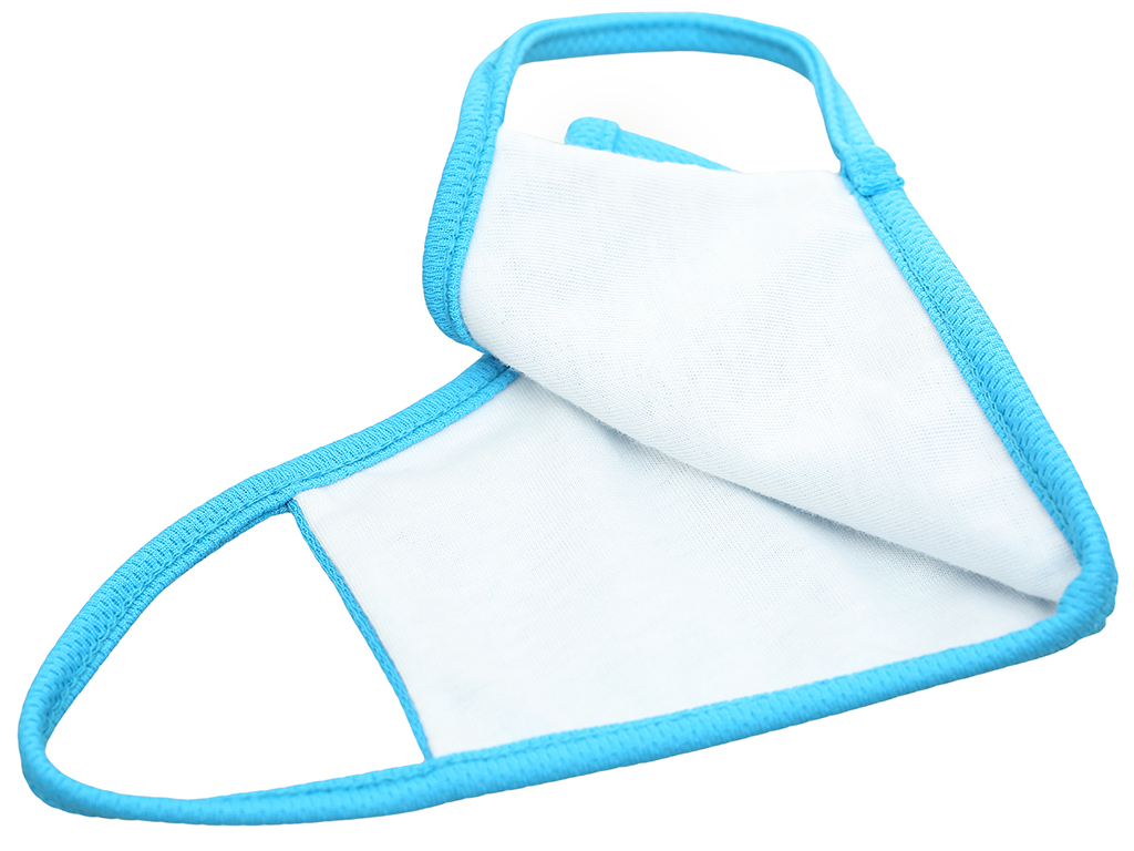 Khẩu trang vải kháng khuẩn dpNano 2 lớp hộp 4 cái size S 4