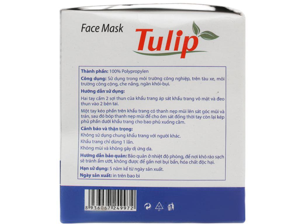Khẩu trang Tulip 3 lớp hộp 50 cái 2