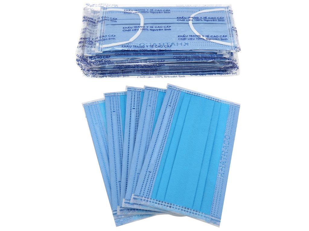 Khẩu trang y tế KHATRACO 4 lớp hộp 20 cái - giao màu ngẫu nhiên 7