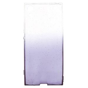 Ốp lưng Xperia XA1 Nhựa dẻo Shining Powder Xmobile Xám