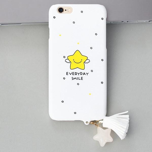 Ốp lưng iPhone 6-6S Nhựa cứng Simple Tassel in hình OSMIA CK170504 Ngôi sao Everyday Smile