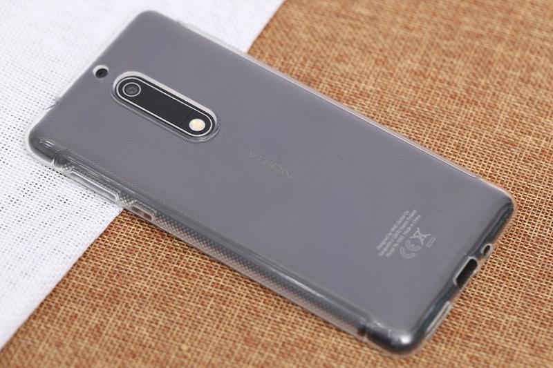 Ốp lưng Nokia 5 Nhựa dẻo Tiny Grained COSANO - Điện máy XANH