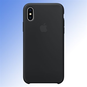 Ốp lưng iPhone X Silicone Apple MQT12 Đen