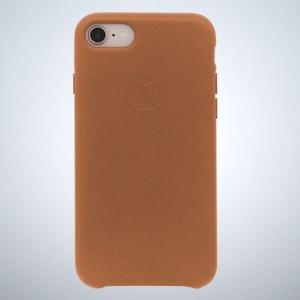 Ốp lưng iPhone 8 - iPhone 7 da Apple MQH72 Vàng Da Bò