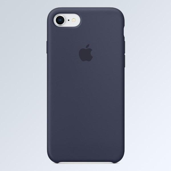 Ốp lưng iPhone 7-iPhone 8 Silicone Apple MQGM2 Xanh Dương