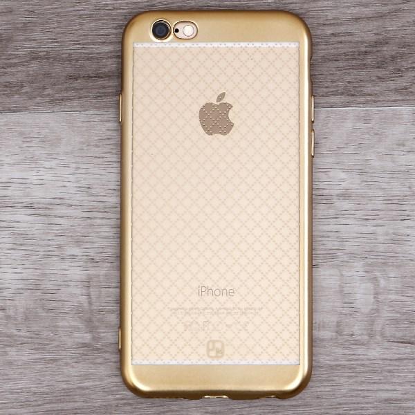 Ốp lưng iPhone 6-6S Nhựa dẻo Noisele JM Gold