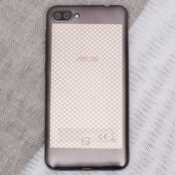 Ốp lưng Zenfone 4 Max Nhựa dẻo Noisele JM Đen