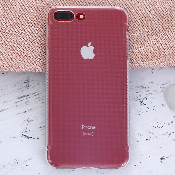 Ốp lưng iPhone 7 Plus - 8 Plus Nhựa dẻo Tiny Grained COSANO Nude