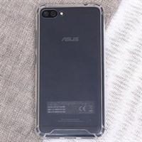 Ốp lưng Zenfone 4 Max pro Nhựa dẻo viền cứng Kick V Nude