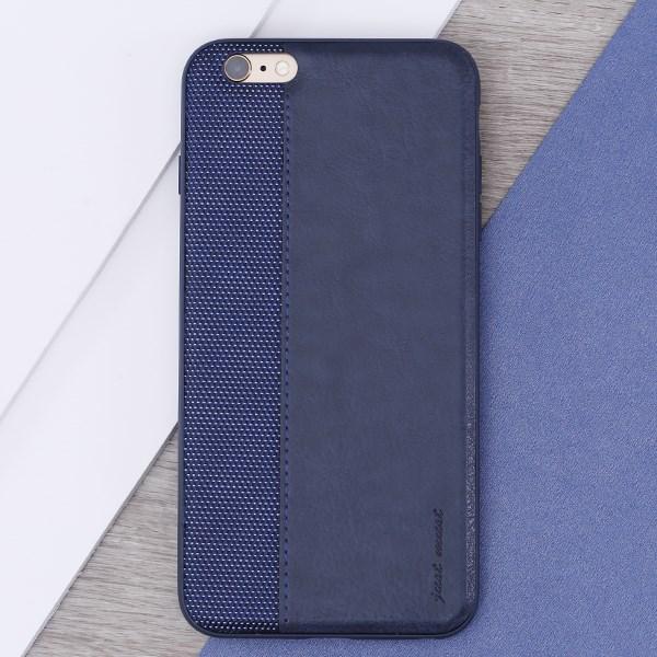 Ốp lưng iPhone 6 Plus - 6s Plus Nhựa dẻo Contracrs PU Xanh đen