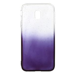 Ốp lưng Galaxy J3 pro Nhựa dẻo Shining Powder COSANO Xám trong