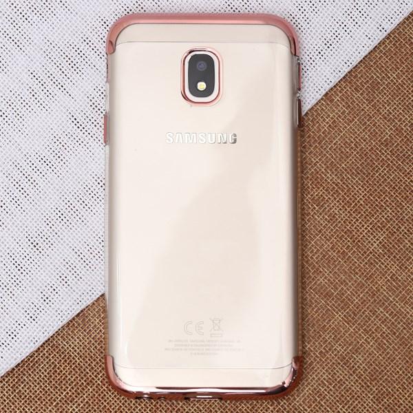 Ốp lưng Galaxy J3 pro Nhựa dẻo Electroplate T&B OSMIA Hồng