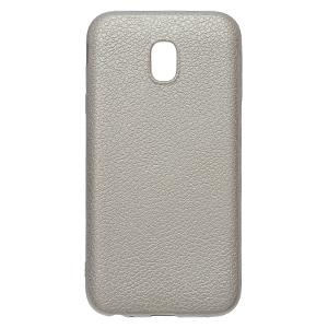 Ốp lưng Galaxy J3 pro Nhựa dẻo Lichi Tpu With Electorplate OSMIA Bạc