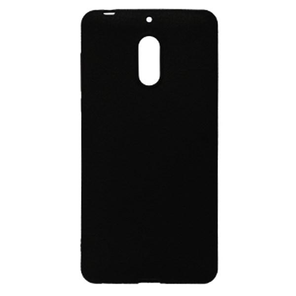 Ốp lưng Nokia 6 Nhựa dẻo Tpu Case - Litchi Grain X-MOBILE Đen