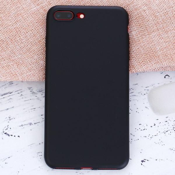 Ốp lưng iPhone 7 Plus - 8 Plus Nhựa dẻo TPU coatting X-MOBILE Đen