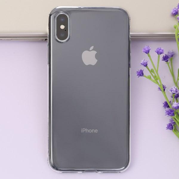 Ốp lưng iPhone X nhựa dẻo Clear TPU OSMIA NUDE Pbag