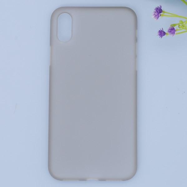 Ốp lưng iPhone X nhựa dẻo Thin case-PP OSMIA Xám Pbag