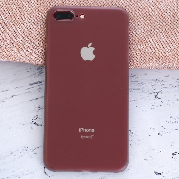Ốp lưng iPhone 7 Plus - 8 Plus nhựa dẻo Thin case-PP OSMIA Xám Pbag
