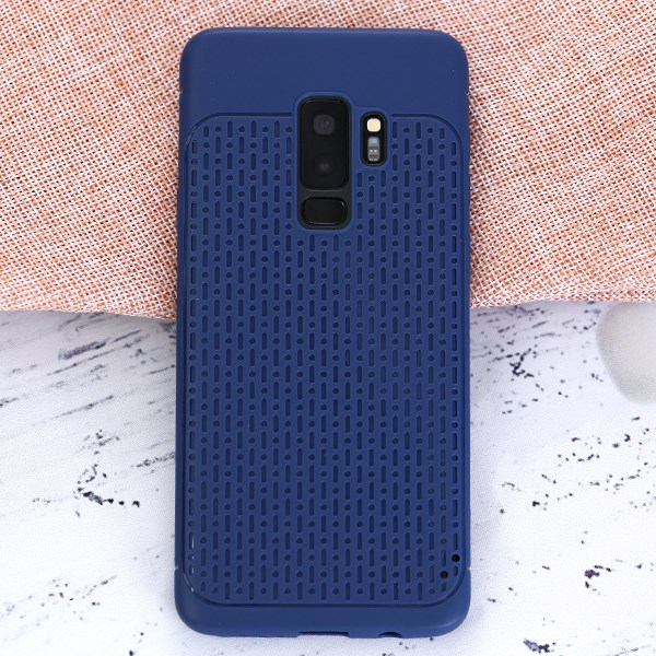 Ốp lưng Galaxy S9 Plus Nhựa dẻo Nesdak JM Xanh đen